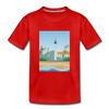 Berlin am Meer - Kinder Premium T-Shirt - Rot