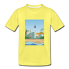 Berlin am Meer - Kinder Premium T-Shirt - Gelb