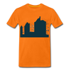 Sonnenburger Straße - Männer Premium T-Shirt - Orange