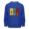 Berlin Retro - Kinder Premium Sweatshirt - Royalblau