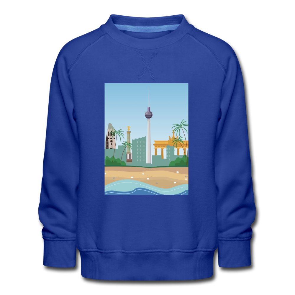 Berlin am Meer - Kinder Premium Sweatshirt - Royalblau