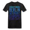 Charlottenburg - Earth - Männer Premium T-Shirt - Anthrazit