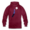 Unterwegs in Berlin - Unisex Hoodie - Bordeaux