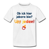 Jeborn in Berlin - Teenager Premium T-Shirt - Weiß