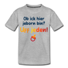 Jeborn in Berlin - Teenager Premium T-Shirt - Grau meliert