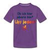 Jeborn in Berlin - Teenager Premium T-Shirt - Lila