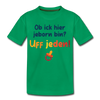 Jeborn in Berlin - Teenager Premium T-Shirt - Kelly Green