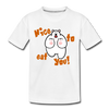 Nice to eat you - Teenager Premium T-Shirt - Weiß