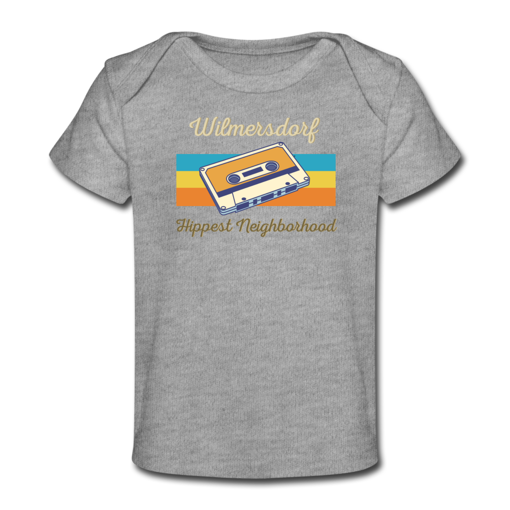 Wilmersdorf Hippest Neighborhood - Baby Bio T-Shirt - heather grey