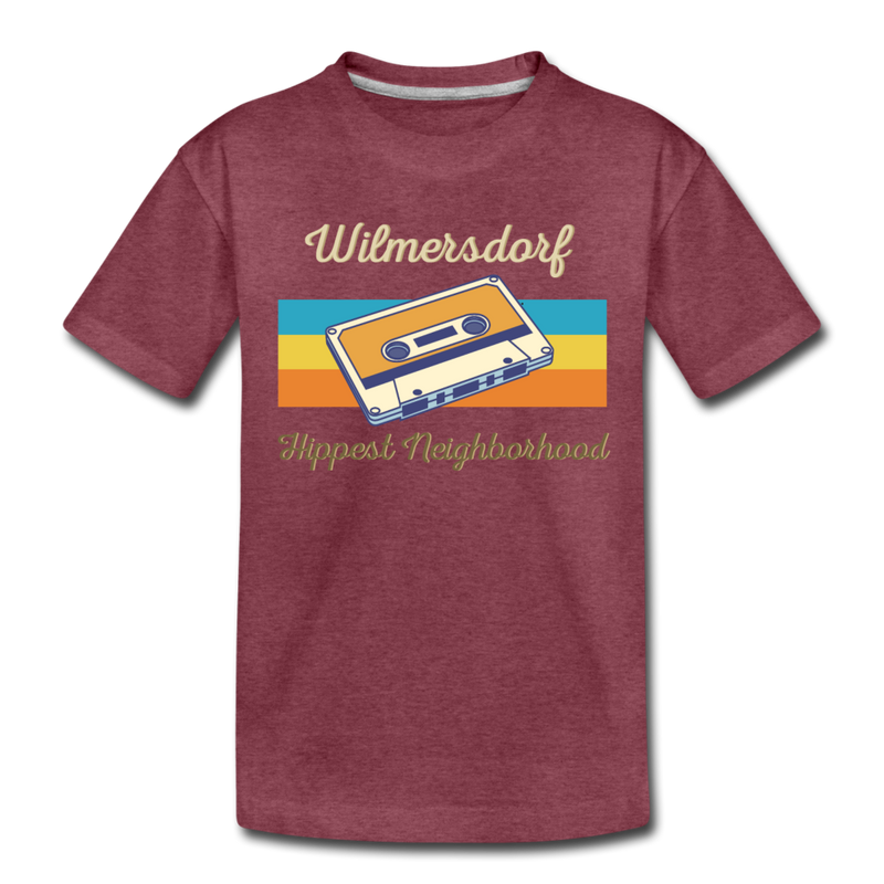 Wilmersdorf Hippest Neighborhood - Teenager Premium T-Shirt - heather blue