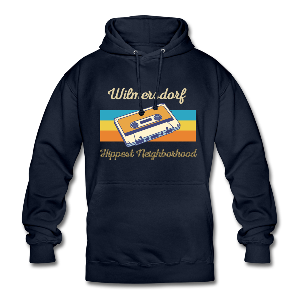 Wilmersdorf Hippest Neighborhood - Unisex Hoodie - navy