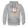 Nice to eat you - Männer Premium Hoodie - Grau meliert