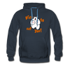 Nice to eat you - Männer Premium Hoodie - Navy