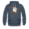Nice to eat you - Männer Premium Hoodie - Jeansblau
