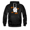 Nice to eat you - Männer Premium Hoodie - Anthrazit