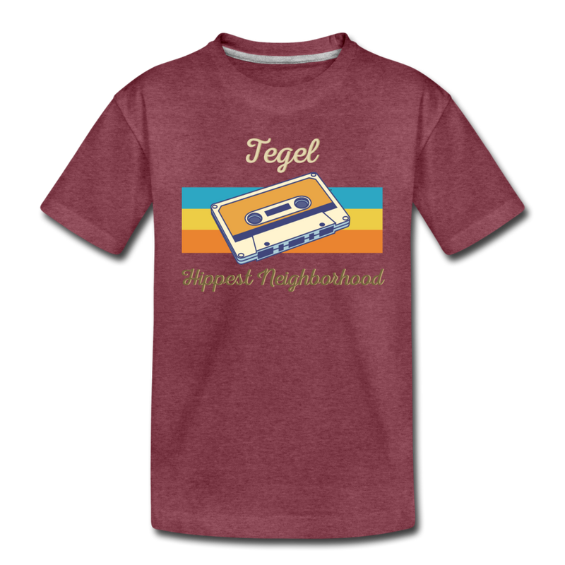 Tegel Hippest Neighborhood - Kinder Premium T-Shirt - Königsblau