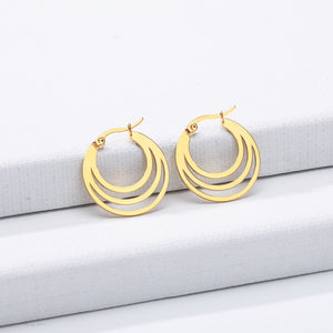 Boho Crescent Moon Earrings