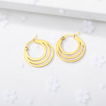 Load image into Gallery viewer, Boho Crescent Moon Earrings