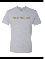 What Ales You Tshirt 2019 Light Heather Gray