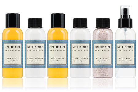 NELLIE TIER Travel Range - All natural skincare