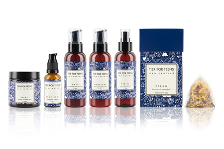 TIER FOR TEENS - all natural skincare range