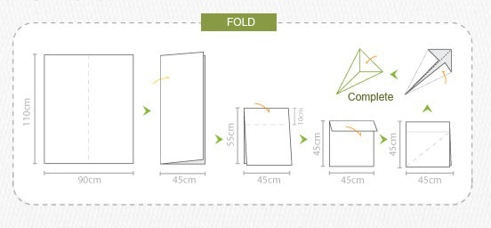 how to fold 3