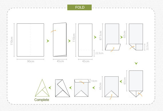 how to fold 4