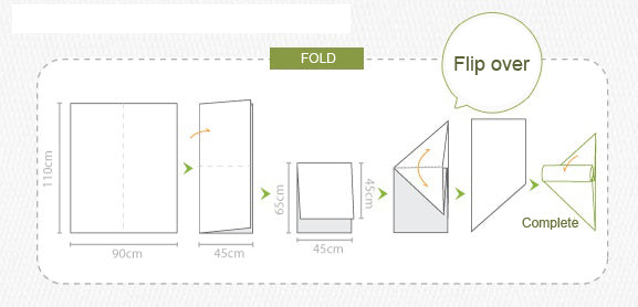 how to fold 5
