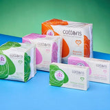 COTTONS Ultra Thin Pads with Wings Super 10 pcs - nature as shop