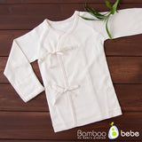 Bamboo Cream Baby Tee - nature as shop