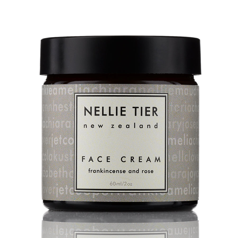 NELLIE TIER Face Cream Frankincense & Rose 60ml - nature as shop