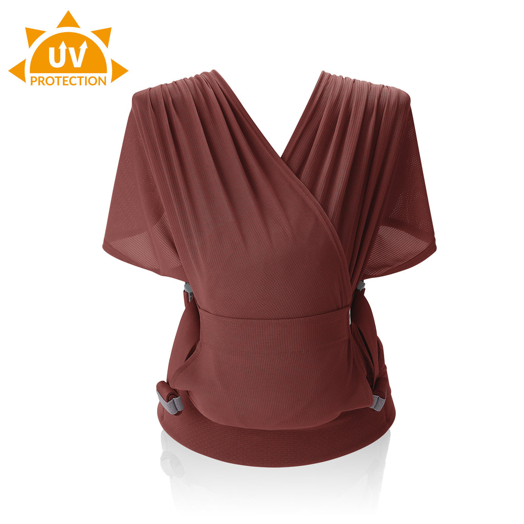 Pognae Step One UV CUT Air - Baby wrap sling baby carrier - Light comfortable cool baby carrier - nature as shop