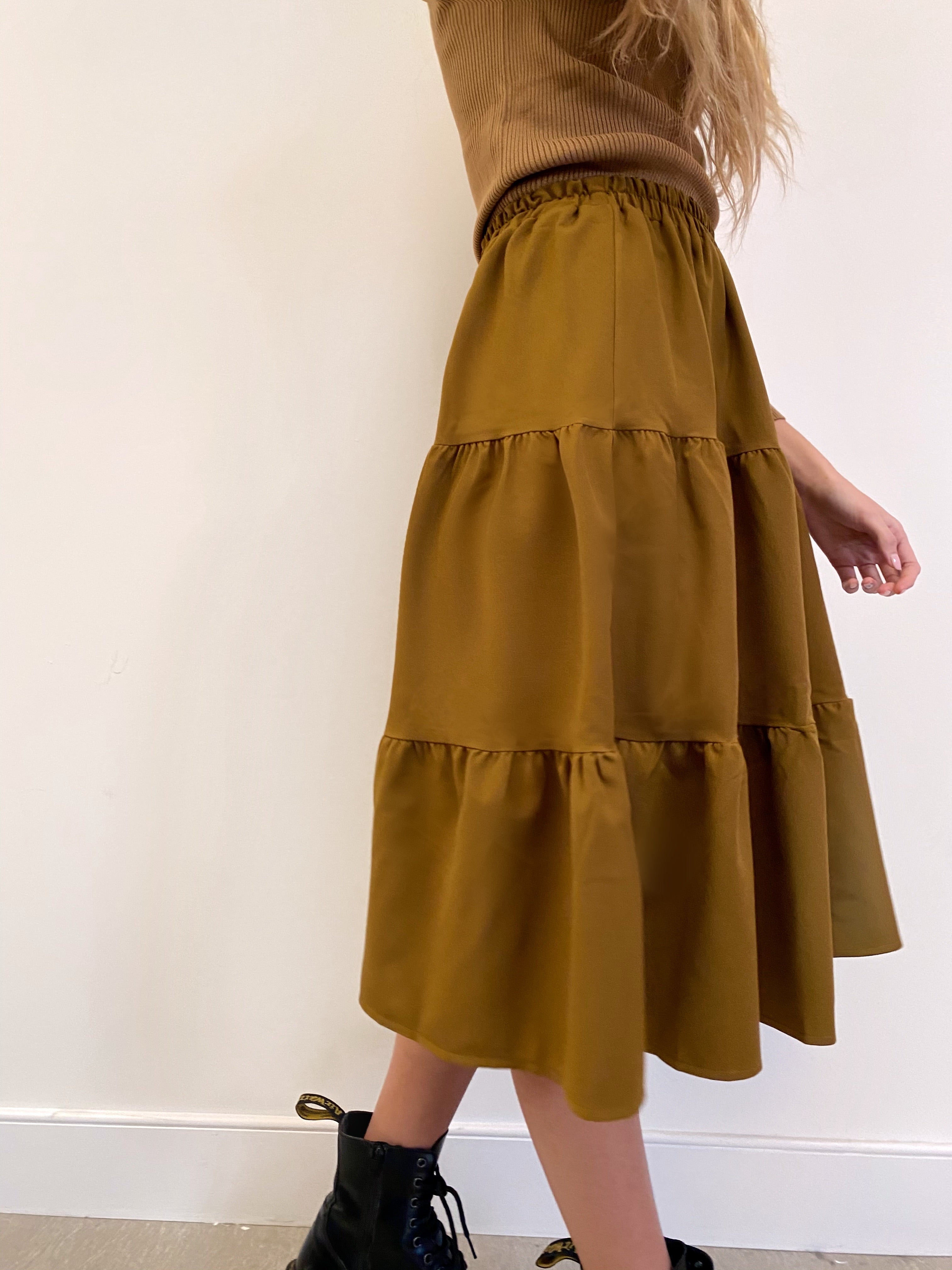The Olive Flirt Skirt *Tall*