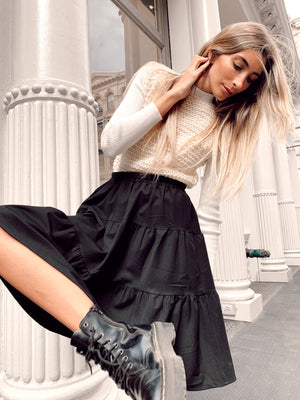 The Black Flirt Skirt *Standard*