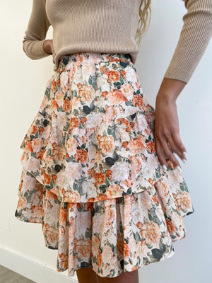 The Floral Tier Skirt *Mini*