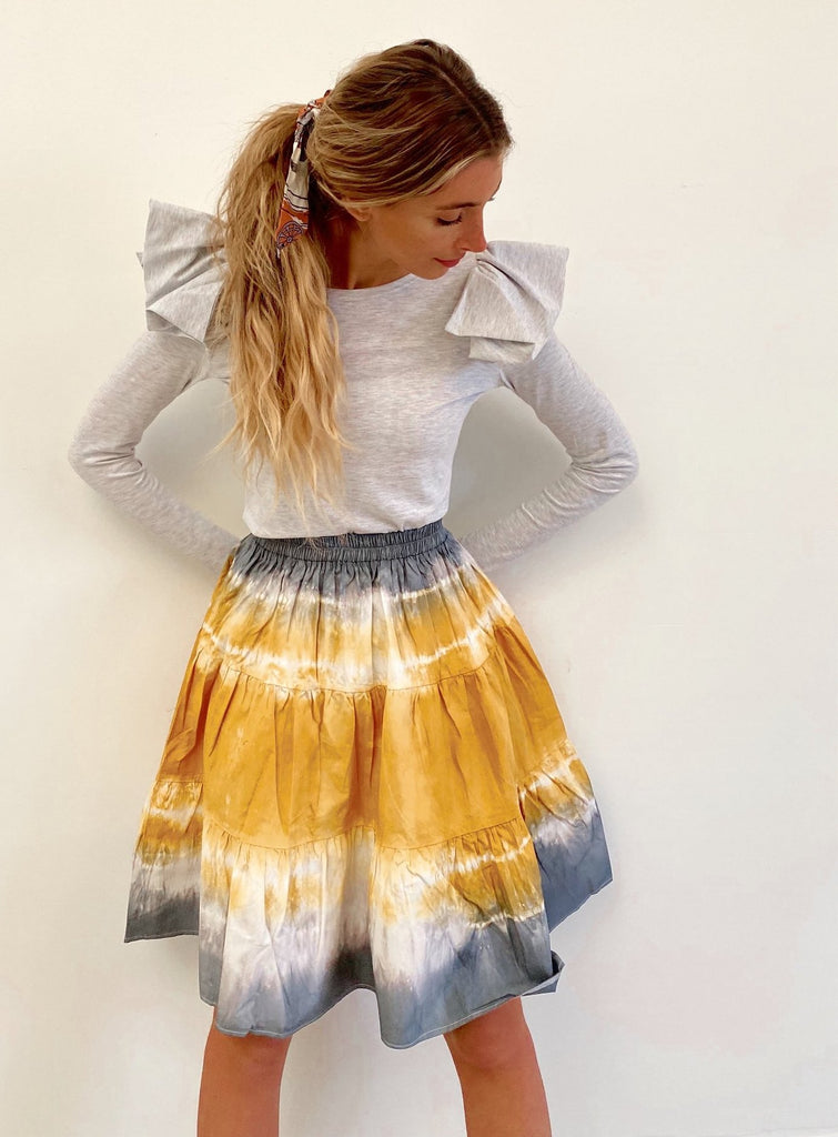 The Golden Hour Flirt Skirt *Petite*