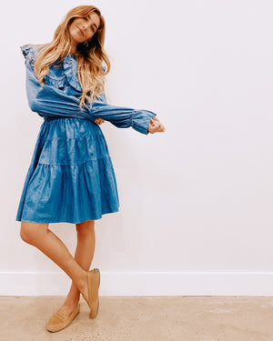 The Denim Flirt Skirt *Mini*
