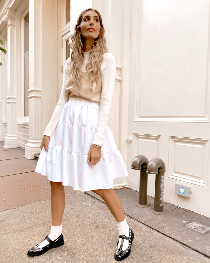 The White Flirt Skirt *Standard*