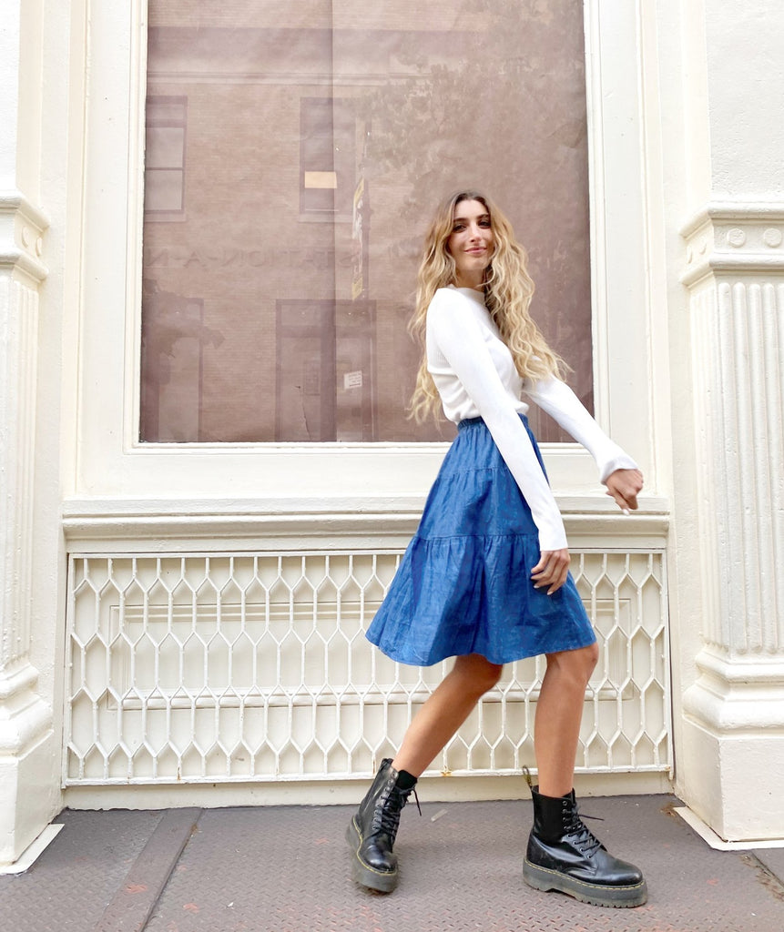 The Denim Flirt Skirt *Standard*