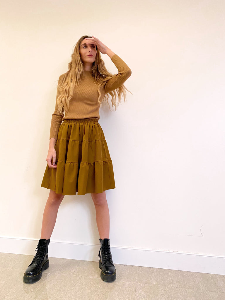 The Olive Flirt Skirt *Mini*