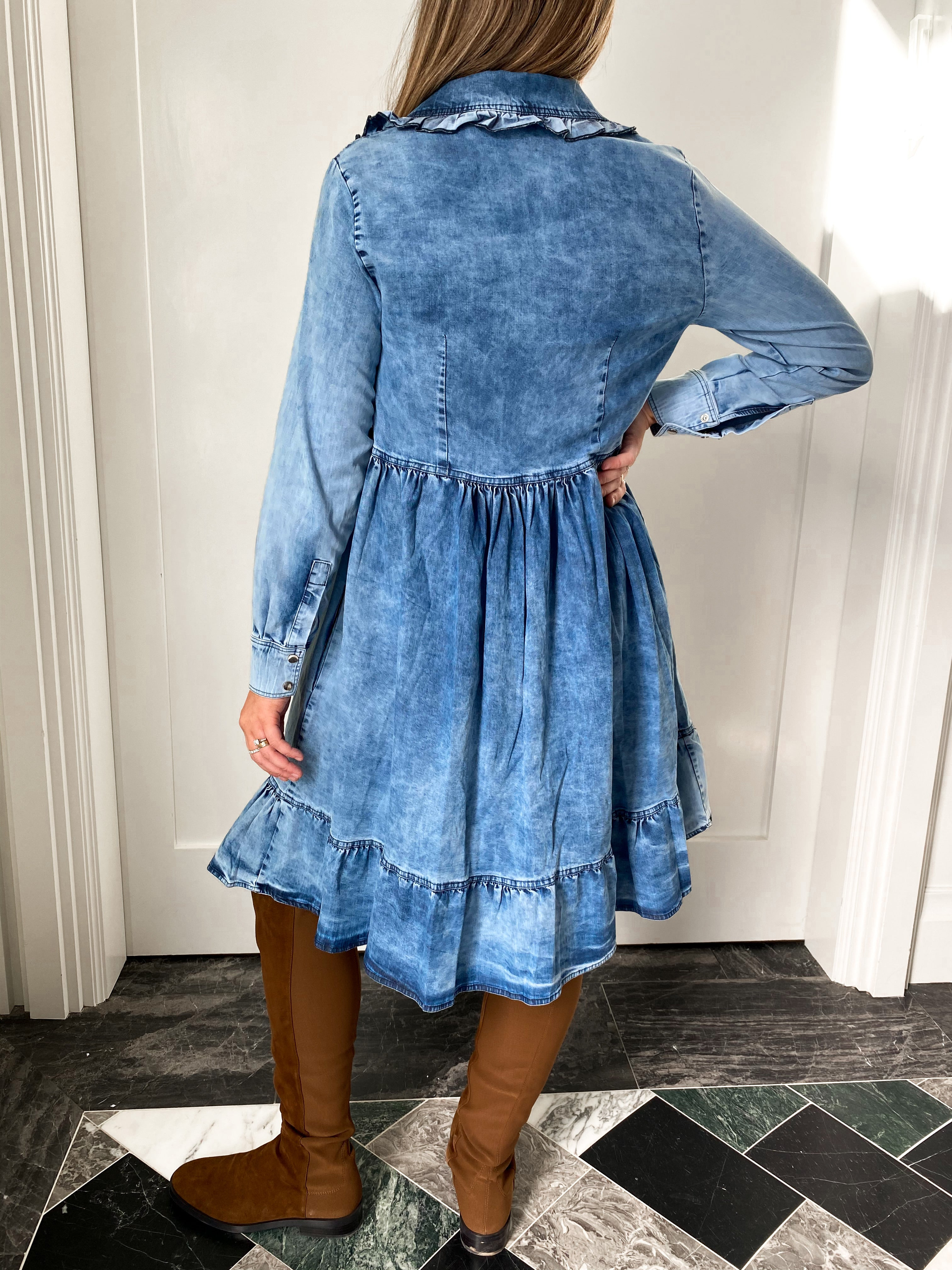 The Denim Abigail Dress
