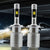 MODERN CAR LED Headlight Bulbs H7 H4 H1 H11 9005 9006 Car Front Fog Lamp Led 48W Dual Color 6000K 3000K Automobile Headlamp 12V
