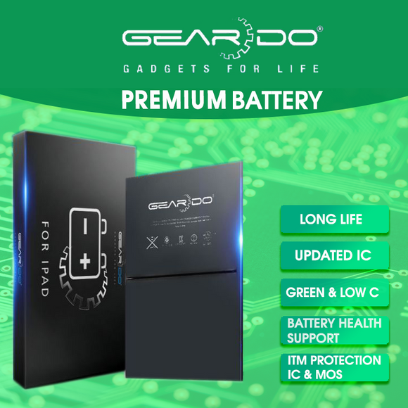 Premium Geardo iPad Air 2 2nd Gen Battery 7340mAh