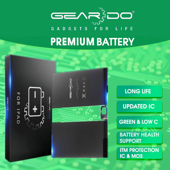 Premium Geardo iPad Pro 12.9 1st Generation (2015) Battery 10307mAh
