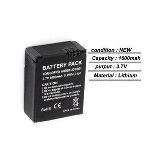 Battery 1600mAh for Gopro Hero 3/3+