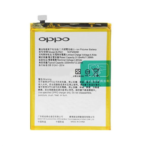 OPPO A73 BLP631 Battery Replacement A77