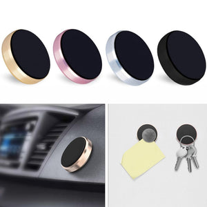 Car Mobile Phone Holder Universal Magnetic GPS Stand Mini Mount for iPhone Samsung Huawei Xiaomi XR657