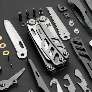 Xiaomi huohou multi-function Folding Knife Bottle Opener Screwdriver / Pliers Stainless Steel Army Knives Hunting Outdoor