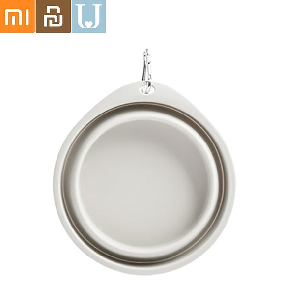 Jordan&Judy JJ Folding Portable Pet Bowl With aluminum button from xiaomi youpin
