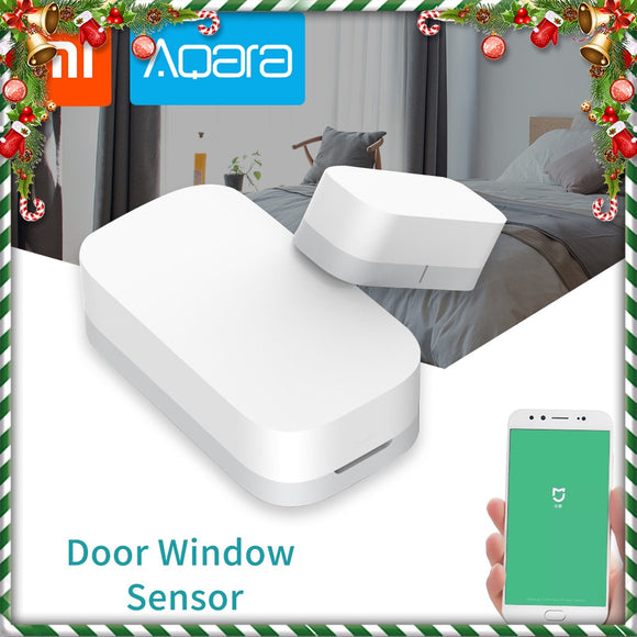 Xiaomi Aqara Door Window Sensor Zigbee Wireless Connection Security Alarm System Suite Work With Mi App For Android IOS Phone